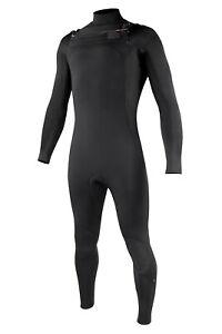 All Black Derevko Chest Entry Wetsuit