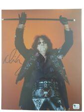 Alice Cooper signed 8x10 COA GAI