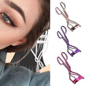 Trendy Metal Eyelash Curler Tweezers Lash Clip Applicator Beauty Makeup……