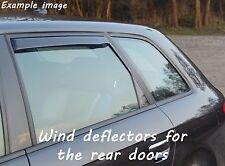 Wind deflectors for Audi A3 Sportback 8P 2004-2013 Hatchback 5doors rear
