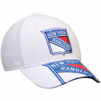 New York Rangers Reebok NHL Face-Off Draft Flex Men's Fitted Cap Hat - Size: S/M