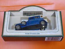 Lledo No 54000 - Diecast Model Of A Blue Rolls Royce 'D' Back Car
