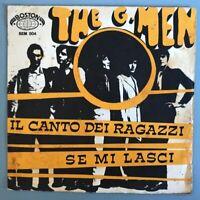 cover vinile 45 giri - The G. Men - Il canto dei ragazzi - Boston 1967 - BEM 004