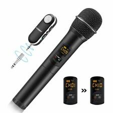UHF Funkmikrofon Bluetooth Wireless Hand Mikrofone Karaoke für DJ MIC Business
