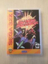 Universal Sega 32X Replacement Case - Shadow Squadron (NO GAME!)