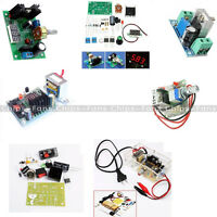 LM317 Speed Control Adjustable Regulated Step-down Module Power Supply DIY Kit