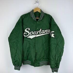 Chalk Line NCAA Michigan State Spartans Pullover Ski Jacket Size XL D17