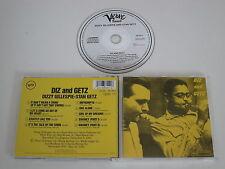 DIZZY GILLESPIE, STAN GETZ/DIZ AND GETZ(VERVE 833 559-2) CD ALBUM