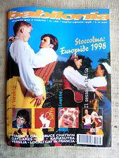 BABILONIA mensile gay e lesbico n.168 7/8 1998 Stoccolma europride 1998