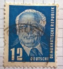 Germany DDR stamps - State President Wilhelm Pieck 1978 12 pfg - FREE P & P