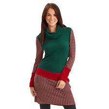 Polyester Long Sleeve Mini Jumper Dresses