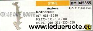 11236640501 ARPIONE ROSTRO MOTOSEGA STIHL 017 018 E180 MS 170 171 180 181 191