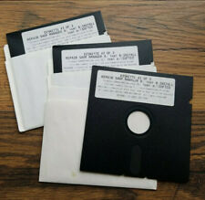 """Repair Shop Manager - 5.25"""" floppy disk (3 Diskettes)"""