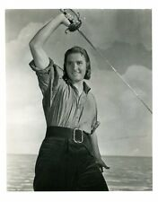 "Errol Flynn Captain Blood 8x10"" Studio Copy Photo #L9772"