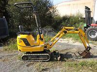 Jcb Micro, Micro Plus,Micro 8008 Excavator Workshop Service Repair Manual