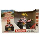 Nintendo Mario Kart Peach 2.4GHz Remote Control Vehicle 1:20 Carrera Motorcycle