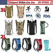 iMountek 2/3L Water Bladder Bag Hydration Backpack Pack Hiking Camping Cycling