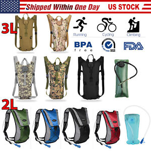 heaven2017 2L Portable Hiking Camping Cycling Hydration Backpack Drinking Water Bladder Bag