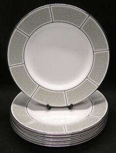 Six Wedgwood Shagreen Jade Side Plates