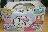 Topps I Love Heart Sloths Cute Figures Collection Box (12 blind bags) Scented