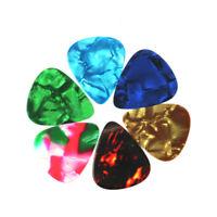 144 X Acoustic Electric Bulk Guitar Picks Plectrum Assorted Colors Mixed Size