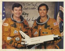 STS-1 - Official NASA 8x10 Photo Signed by John W. Young & Robert L. Crippen