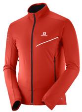 Salomon Men's RS Softshell Jacket Medium Fiery Red