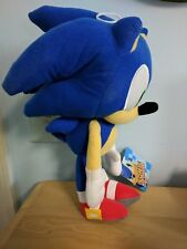 "11""-12"" Sonic the Hedgehog Plush NWOT Stuffed Animal, Toy Factory, Sega Licensed"