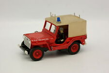 Kit Monté base Solido 1/43 - Jeep Willys Pompiers Valencay
