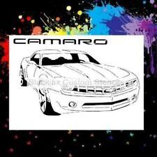 New Camaro Airbrush Stencil,Template
