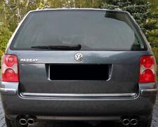 VW PASSAT 3BG VARIANT KOMBI CHROMLEISTE ZIERLEISTE HECKKLAPPE KOFFERRAUM