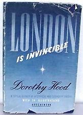 London is Invincible, Dorothy Hood, Illustrated HC, Historical-Legendary London