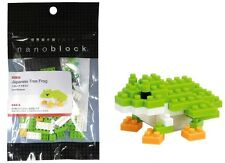 NANOBLOCK JAPANESE TREE FROG MINI BRICKS PUZZLE 80 PIECES GREAT GIFT