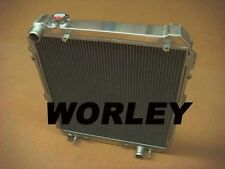 Aluminum radiator for HILUX SURF KZN130 1KZ-TE AT/MT 1993 1994 1995 1996