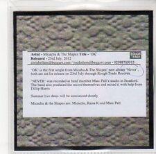 (DL896) Micachu & The Shapes, OK - 2012 DJ CD