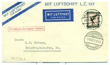 GERMANY GRAF ZEPPELIN FLIGHT COVER 1929 SIEGER 49B C32