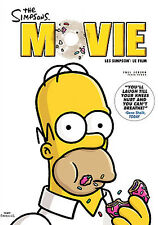 The Simpsons Movie (DVD, 2007, Canadian Full Frame)