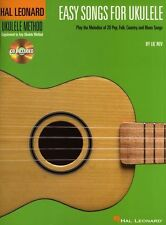 Learn to Play EASY SONGS for UKULELE Music Book & CD