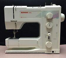 Bernina 1006 Mechanical Sewing Machine, Foot Pedal, Power Cord, Cover & Manual