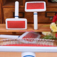 Pet Dog Cat Hairs Grooming Shedding Remove Rake Comb Brush Long Short Thick TP