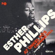 Esther Phillips-at zio pö 's Carnegie Hall/Amburgo'79 2 CD NUOVO