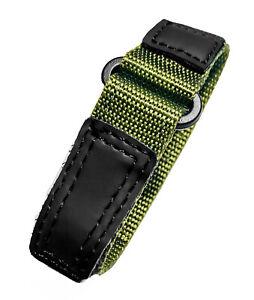 Voguestrap 13-16mm Comfort Strap Nylon Watchband Compatible: Timex Fastwrap