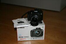 Fotocamera Canon EOS 1300d reflex digitale + obiettivo 18-55 IS SOLO 2300 SCATTI