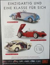 CMC publicitaires page FERRARI DINO 156, Porsche 901, AUDI Front, 1-18... JOURNAL D'AFFICHAGE