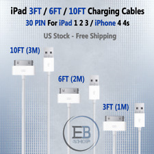 Apple iPad Cable Lightning 3ft 6ft 10ft 30PIN MFI USB Charger High Quality New