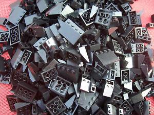 10 Lego Dachsteine Schrägsteine 2x2x3 weiss NEU 3684c