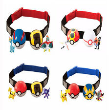 Newest Pokemon Clip n Carry Kids Adjustable Poke Ball Belt Xmas Gift