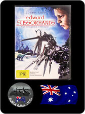 Edward Scissorhands (DVD) Reg 4 - Johnny Depp - Winona Ryder - DRAMA - ROMANCE