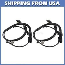 2pcs Front ABS Wheel Speed Sensor For Ford F-150 2005-2008 4.2L 4.6L 5.4L 4WD
