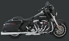 "VANCE & HINES 4.5"" DESTROYER SLIP-ON MUFFLERS HARLEY ROAD GLIDE FLTR FLTRX 2017"